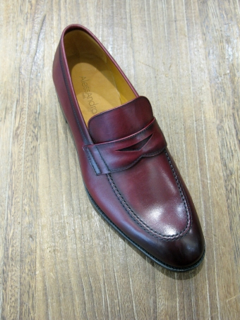 CHAUSSURES ALESSANDRO 3585 BORDEAU Chaussures