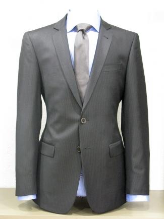 Costume AlessAndro noir à fine rayure 0531229a2d4