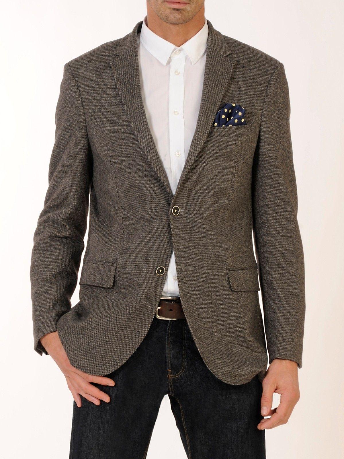 veste homme alessandro en tweed pure laine 120 39 s gris garnico alessandro paris. Black Bedroom Furniture Sets. Home Design Ideas