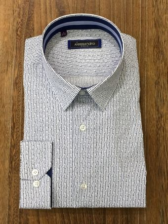 CHEMISE ALESSANDRO RONY GRN BLEU casual chic